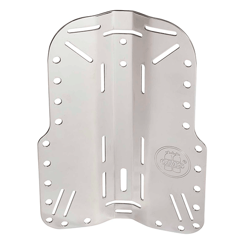 OMS PS BACKPLATE ACERO INOX. dive line store