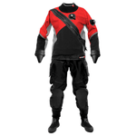SANTI E.MOTION PLUS TRAJE SECO color rojo. Dive Line Store
