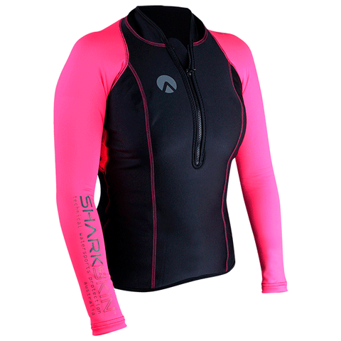 SHARKSKIN PERFORMANCE WEAR CAMISETA MUJER COLOR ROSA. DIVE LINE STORE