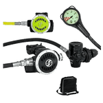 Set completo para buceo recreativo con monobotella, Tecline Set R5 Tec. Dive Line Store