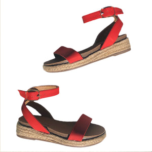 Open image in slideshow, Espadrille Sandals