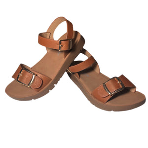 Open image in slideshow, Buckle Strap Sandals