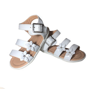 Open image in slideshow, Flower Strap Sandals
