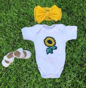 Open image in slideshow, Sunflower Onesie