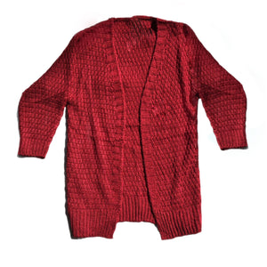 Open image in slideshow, Knit Cardigan
