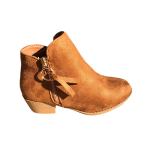 Open image in slideshow, Tassel Suede Ankle Boots