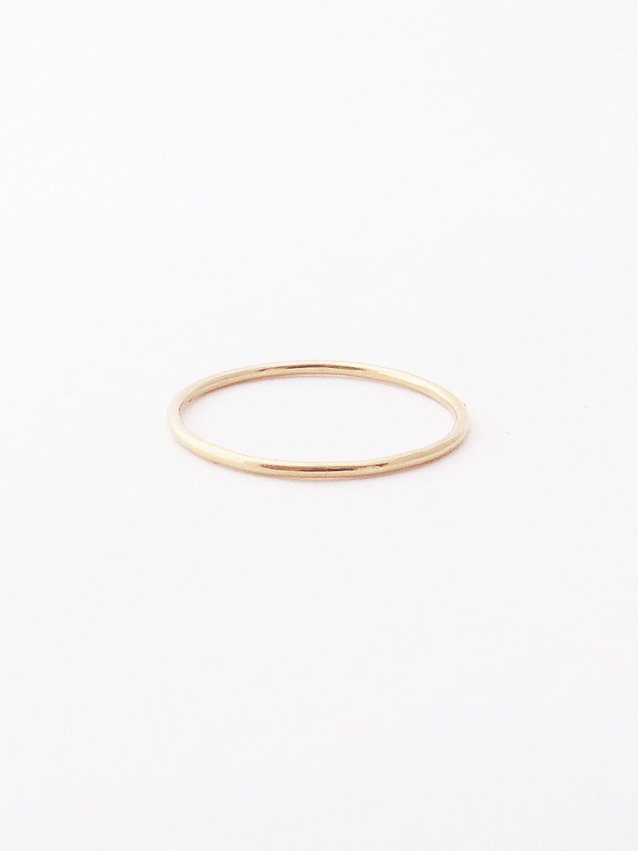 14k Smooth Ring