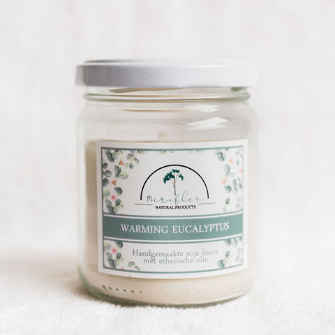 Warming Eucalyptus Candle - Large