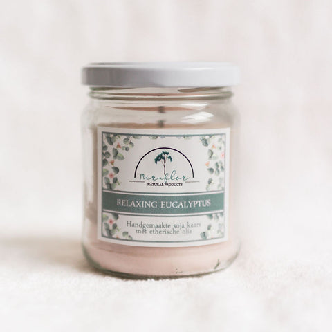 Relaxing Eucalyptus Candle - Large