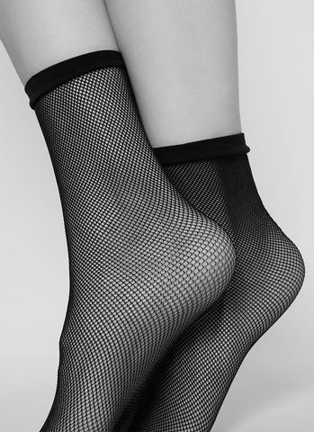 Elvira Net Socks
