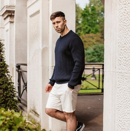 "Origin ""Polar Explorer"" Navy Knitwear"
