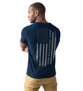 Men's Fitted Make America Fit Again T Shirt