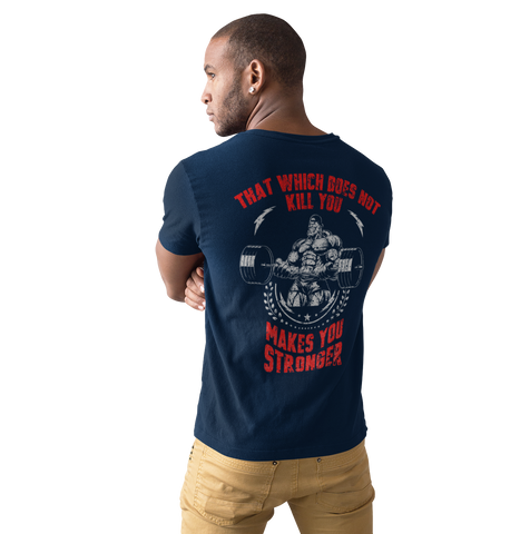 Men's Bodybuildiing Graphic Workout T Shirt - Sun Fitness Apparel