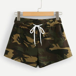 Casual Camo Women's Running Shorts