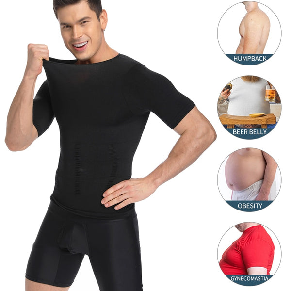 Stomach Control Chest Binder Men's Shapewear