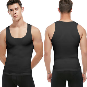 Stomach Control Chest Binder Men's Shapewear - Sun Fitness Apparel