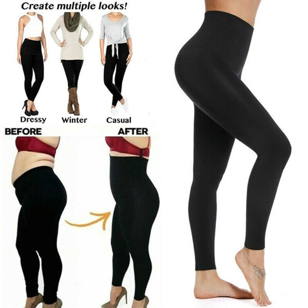 Slimming High Waist Trainer Leggings - Sun Fitness Apparel