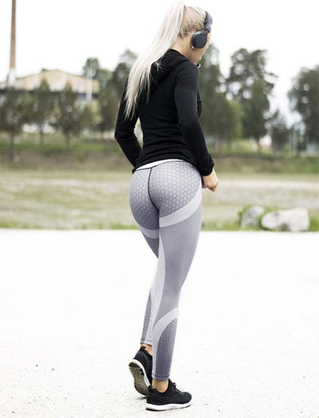 Honeycomb Fitness Workout Leggings