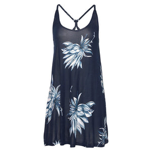 Ice Flower Summer Dress