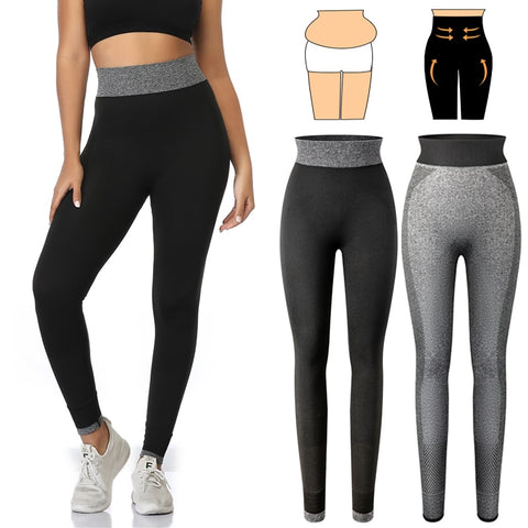 Tummy Tuck High Waist Fitness Workout Leggings - Sun Fitness Apparel