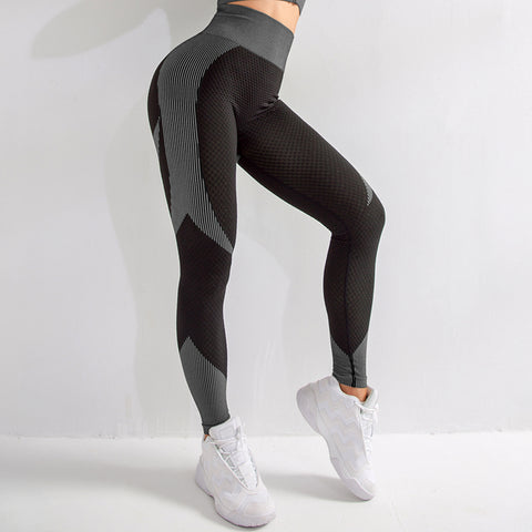 High Waisted Belly Control Fitness Workout Leggings