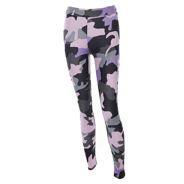 Pure Camouflage Fitness Workout Leggings