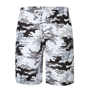 Breathable Camouflage Men's Cargo Swim Shorts Swimsuit