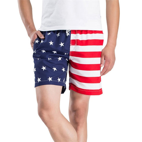 American Patriot Men's Swimsuits