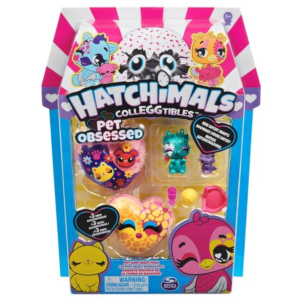 Hatchimals CollEGGtibles Pet Obsessed Pet Shop Multipack