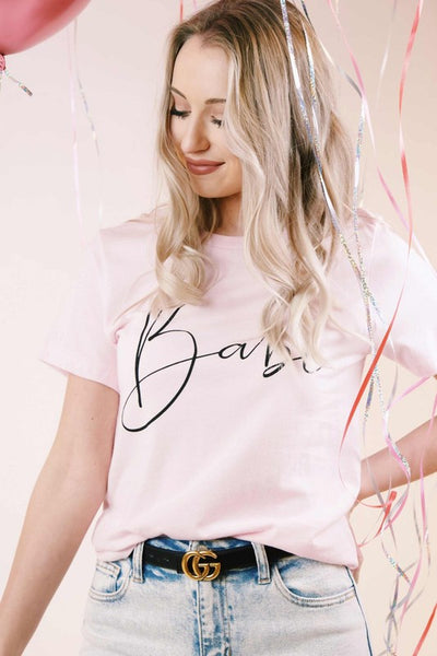 Pink Babe Graphic T-Shirt