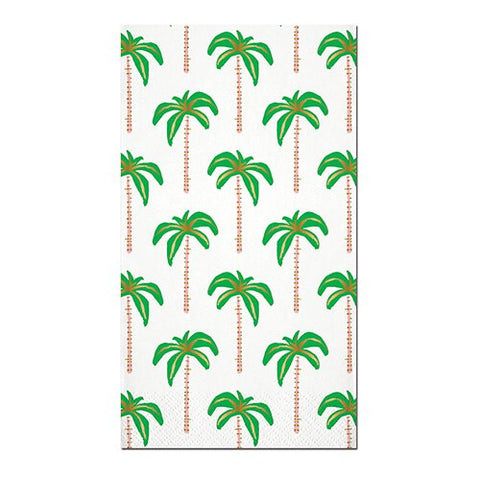 Palm Trees Foil Guest Towels