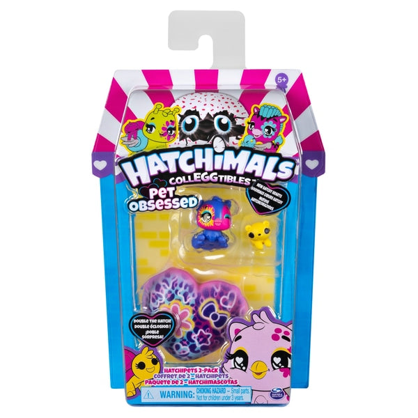 Hatchimals CollEGGtibles Pet Obsessed Hatchipets 2-Pack