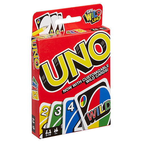 Mattel Uno Classic Card Game