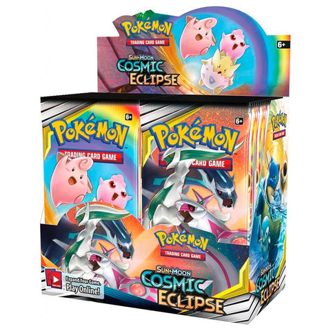 Pokémon Sun and Moon Cosmic Eclipse Booster