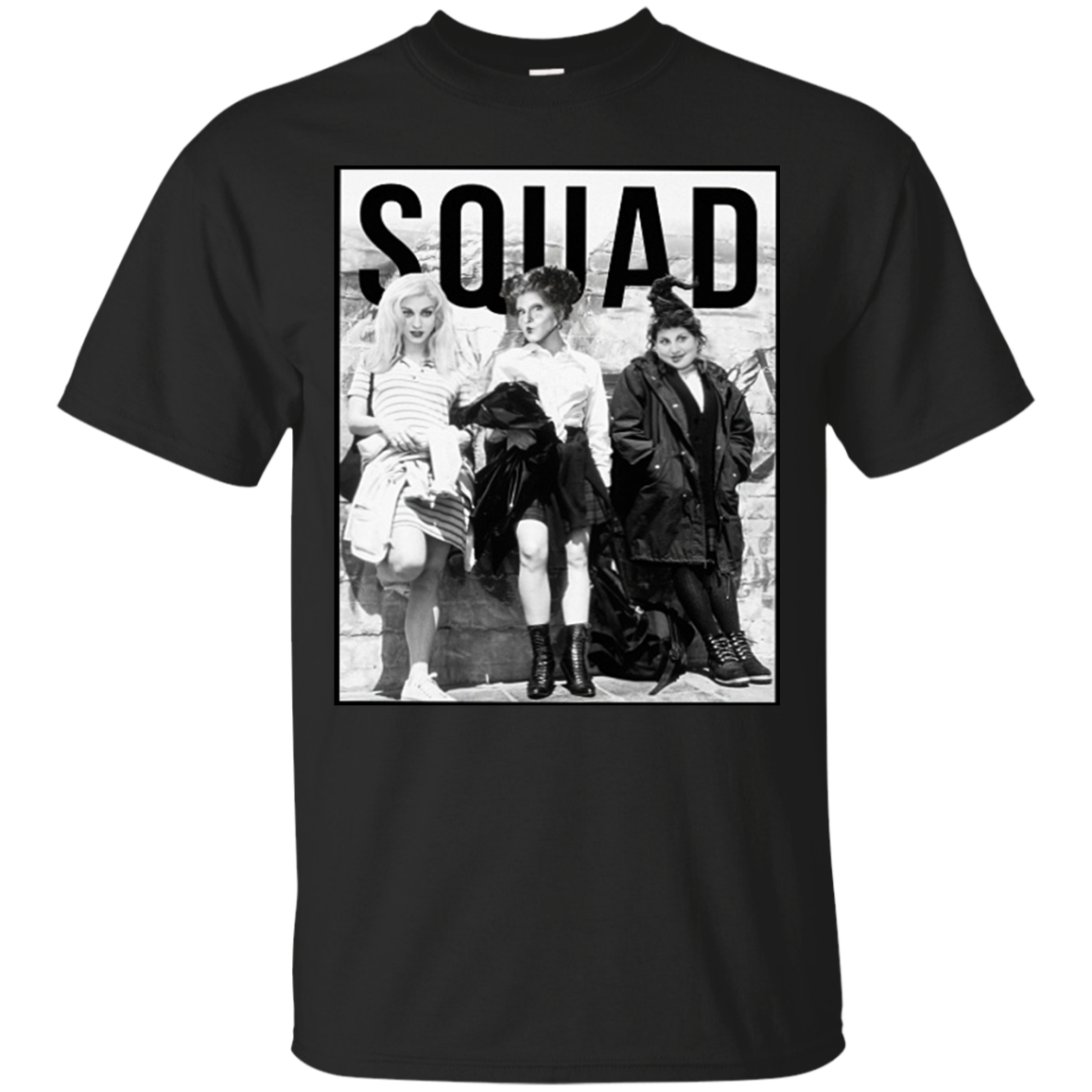 88847f2fdd5 Hocus Pocus Squad Goals Halloween Spooky Witch T Shirt ...