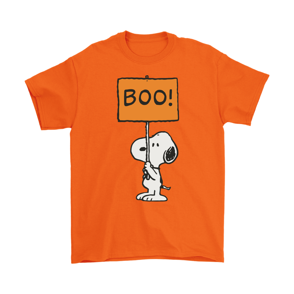 peanut halloween snoopy boo t shirt - awesomefashiontees