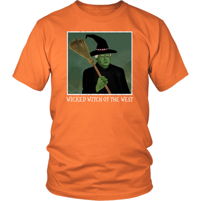 2f0ba097 Trump Wicked Witch of the West T-shirt Funny Halloween ...