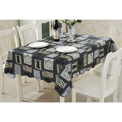 Fudiya PVC Water Proof Table Cloth New Style High Quality Tablecloth  Decorative Elegant Table Cover Hotel