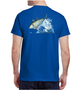 Bluefin Tuna Tee - Antique Royal