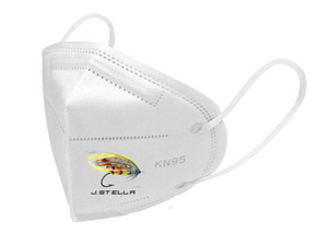 Fly/Bonito KN95 face masks have 5 filtration layers with a covered, adjustable, fitted nose strip