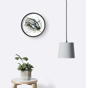 Striped Bass Fall Run Wall Clock
