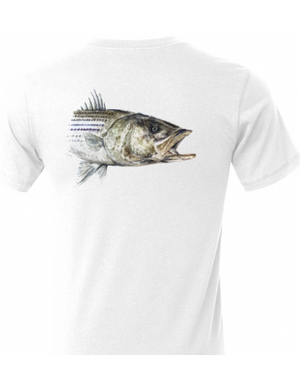 Badass Striped Bass cooling performance Tee