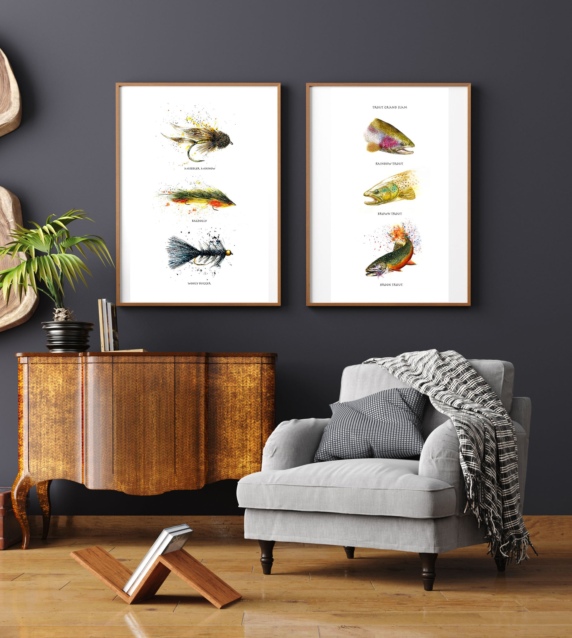 Limited Edition Fine Art Print: Trout Grand Slam