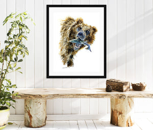 Custom Watercolor Pet Portrait / Wild Animal art