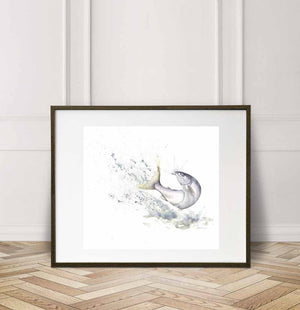 Steelhead, Watercolor Painting Giclée Fine Art Print