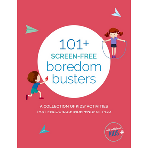 101+ Boredom Buster Activity Cards for Kids