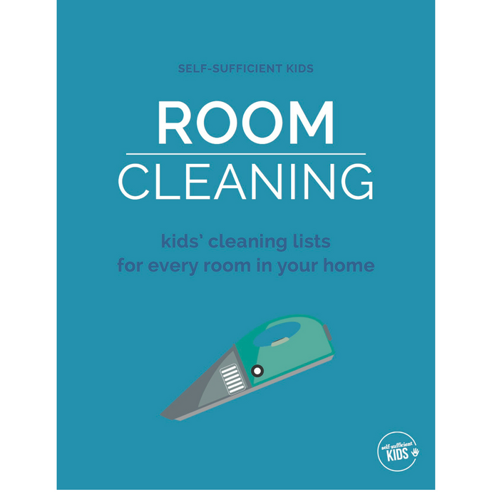 Room Cleaning Cards for Kids