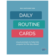 Load image into Gallery viewer, 70+ Routine Cards for Kids – Limited Time Offer 50% Off