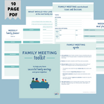 Load image into Gallery viewer, Family Meeting Toolkit