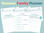 Load image into Gallery viewer, Summer Family Planner
